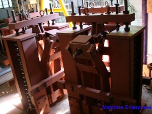 Hydraulic rail clamp HRC25