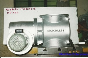 Matchless Enterprises - manufactures of Rotary Feeder RF250